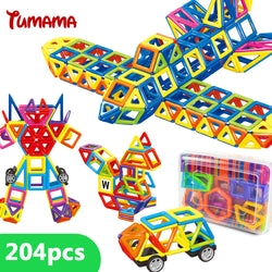 204-Pieces Mini Magnetic Building Blocks ***FREE INSURED SHIPPING.
