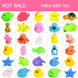 20-Piece/set Cute Soft Baby Bath Toys ***FREE INSURED SHIPPING.