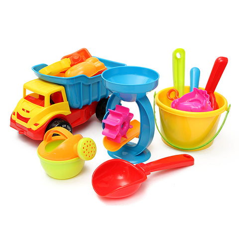 21-Piece/set Bucket Beach Sand Play Toys ***FREE INSURED SHIPPING.