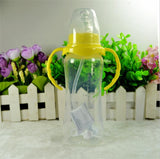 Standard Mouth 240ml Non-slip Feeding Bottle ***FREE INSURED SHIPPING.