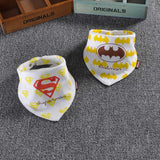 2PCS Cotton Boys Girls baby bib burp Cloths ***FREE INSURED SHIPPING.