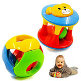2 Piece Colourful Jingle Ball Developmental Toy ***FREE INSURED SHIPPING.
