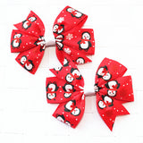 2pcs/lot baby girl hair bow flower. ***FREE INSURED SHIPPING.