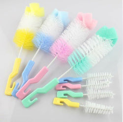 2pcs/set Retail Baby Bottle Brush Sponge Head. ***FREE INSURED SHIPPING.