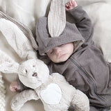 Cute Newborn 3D Bunny Ear Baby Rompers