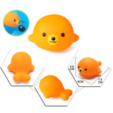 5-Piece Water Spray Soft Rubber Bath Toys ***FREE INSURED SHIPPING.