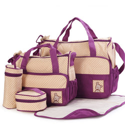 5 Piece Set Diaper Bag ***FREE INSURED SHIPPING.