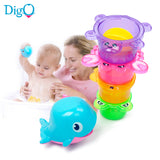 5-Piece/Set Animal Education Bath Toys ***FREE INSURED SHIPPING.