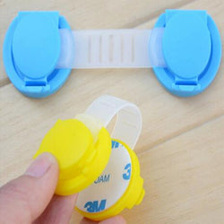 6pcs/lot baby safety locks ***FREE INSURED SHIPPING.