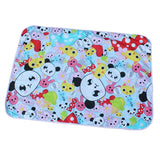 Cartoon Reusable Waterproof Changing Mat