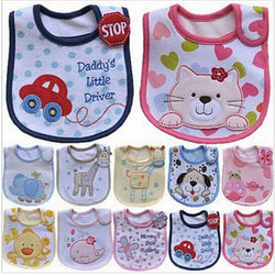 Cartoon Pattern Waterproof Towel Bibs ***FREE INSURED SHIPPING.