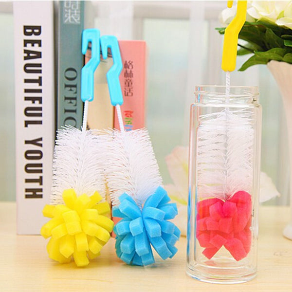 Baby Bottle Cleaning Brush Cup Brush ***FREE INSURED SHIPPING.