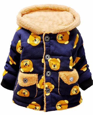 0cea9d960693 Baby Boys Kids Cartoon Bear Jacket Coat    FREE INSURED SHIPPING.