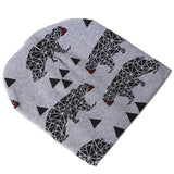 Cartoon Animal Double Printed Cotton Knit Beanies ***FREE INSURED SHIPPING.