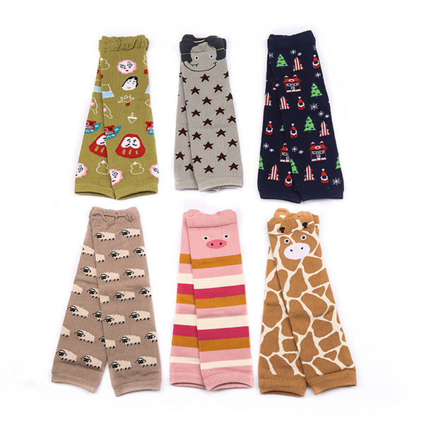Animal Print Cotton Leg Warmers ***FREE INSURED SHIPPING.