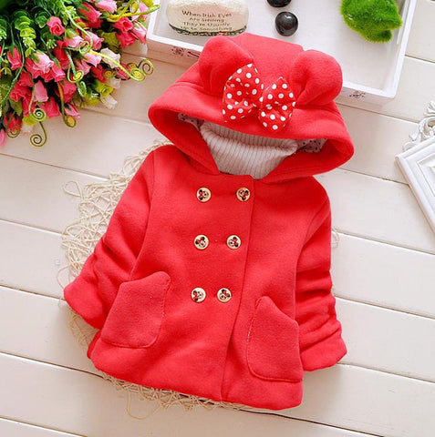 Warm Coat Ear Hoodies ***FREE INSURED SHIPPING.