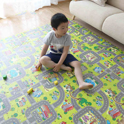 Puzzle Mat Toy Split City Road Carpets ***FREE INSURED SHIPPING.