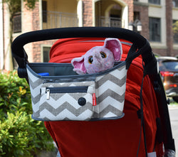 Stroller Hanging Basket  Diaper Organizer ***FREE INSURED SHIPPING.