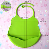 Waterproof silicone feeding baby saliva towel Baby Bibs ***FREE INSURED SHIPPING.