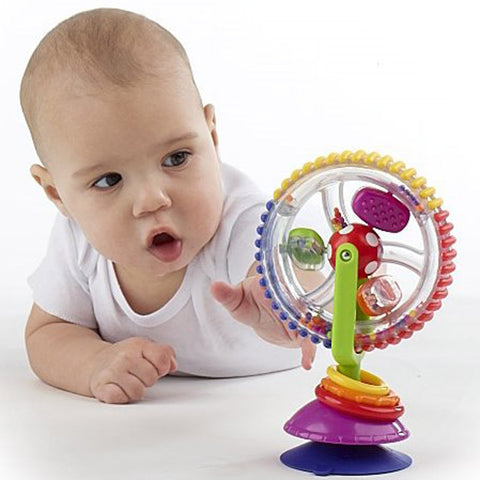 Baby tricolor multi-touch rotating Ferris wheel ***FREE INSURED SHIPPING.