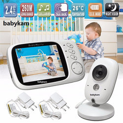 Babykam Baby Night Vision Monitor VB603 3.2 inch LCD IR ***FREE INSURED SHIPPING.