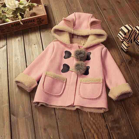 BibiCola Baby Girls Winter Jackets ***FREE INSURED SHIPPING.
