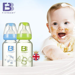 Fierbaby 120ml Glass Feeding Bottle ***FREE INSURED SHIPPING.