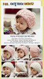 Winter Baby Hat (Bonnet Style) ***FREE INSURED SHIPPING.