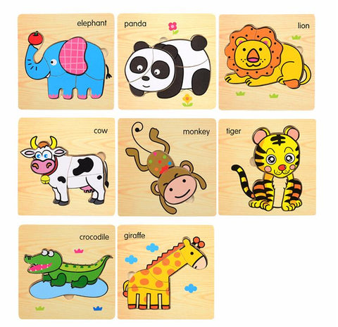 Wooden 3D Jigsaw Puzzle ***FREE INSURED SHIPPING.