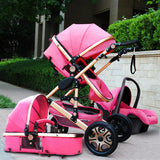 3 in 1 Luxury Multi-Function Stroller with Carriage Seat ***FREE INSURED SHIPPING.