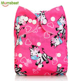 Mumsbest 2018 Design Washable Cloth Diapers ***FREE INSURED SHIPPING.