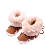 Warm Fleece Solid Boot High-top Moccasins ***FREE INSURED SHIPPING.