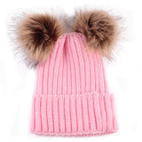 Giveaway: Cute Winter Baby Fur Ball Pompom Beanies (Just Pay Shipping)