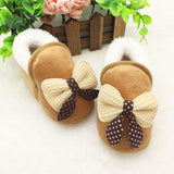 Toddler Girls Buttefly Knot Slippers ***FREE INSURED SHIPPING.