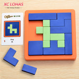 Plastic Jigsaw Puzzle IQ Brain Teaser ***FREE INSURED SHIPPING.