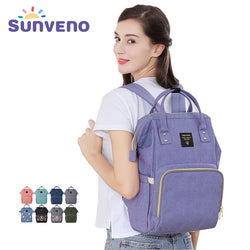 Sunveno Large Capacity Multi-function Backpack Diaper Bag ***FREE INSURED SHIPPING.