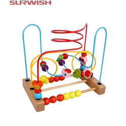 Surwish Counting Fruit Bead Roller Coaster ***FREE INSURED SHIPPING.