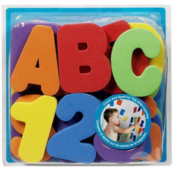 36-Piece Alphabet Swimming/Bath Toys ***FREE INSURED SHIPPING.