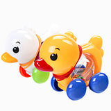 Traditional Pull Along Plastic Duck ***FREE INSURED SHIPPING.