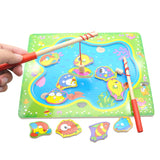 Wooden Magnetic Fishing Game Board ***FREE INSURED SHIPPING.