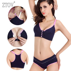 ZTOV Cotton Maternity Bra+Panties Sets ***FREE INSURED SHIPPING.