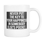 Mugs_The Key To Your Happiness