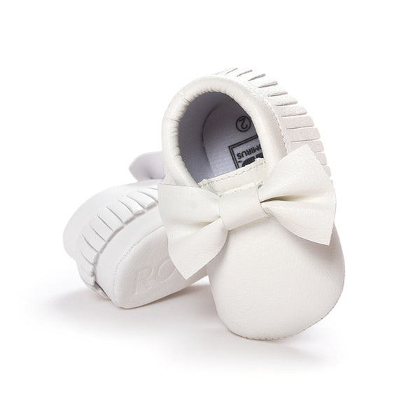 Baby Moccasins Shoes Leather First Walkers