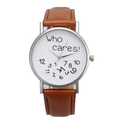 Who Cares Ladies Watch