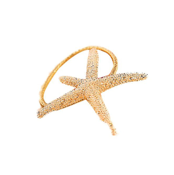 Women Hair Ring Accessory StarFish