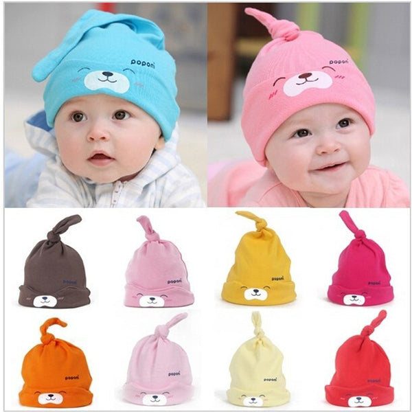 Cotton Fashion Baby Sleep Caps ***FREE INSURED SHIPPING.