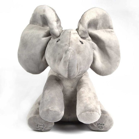 50% OFF+FREE SHIPPING: Peek A Boo Plush Elephant *Black Friday & Cyber Monday Deal