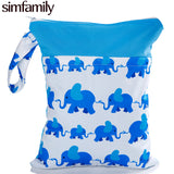 Reusable Waterproof Printed Diaper Bag ***FREE INSURED SHIPPING.