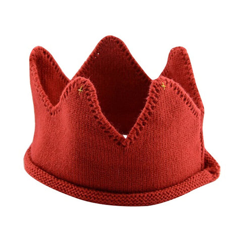 Crown Shape Knitted Headband ***FREE INSURED SHIPPING.