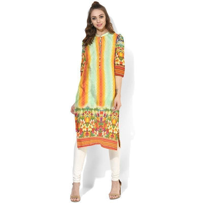Naqsh 9-Digital Printed Stiched Lawn kurti. - gracestore.pk